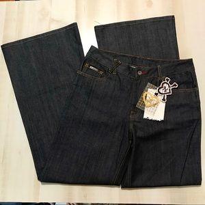 """LRG Luxirie Dark Wash Jeans Size 32"""" Waist"""